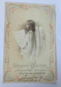 Ostern, Engel, Singen, Jugendstil, 1903  ♥ (65780)
