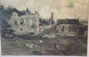 Frankreich Nampcel Feldpoststation 45, 1915 nach Badenweiler (36573)