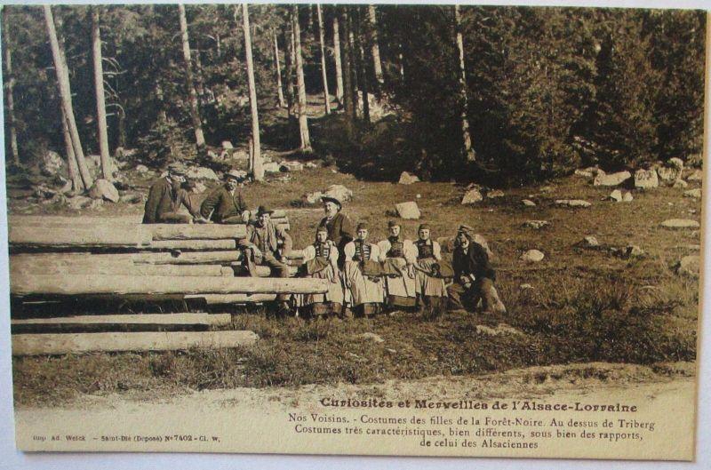 Holz Holzverarbeitung Holzfäller Merveilles de Elsaß Lothringen (21910)