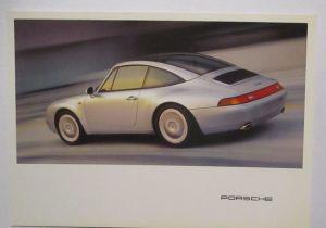 Auto Porsche 911 Werbung Reklame Postkarte (13843)