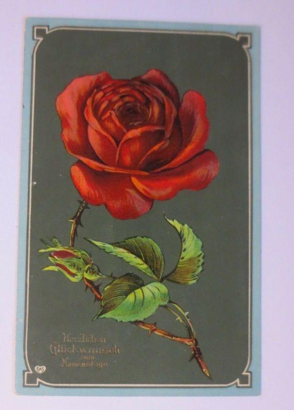 Namenstag, Rosen,     1909 ♥ (43980)