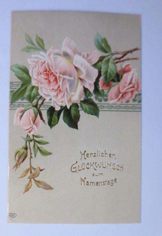 Namenstag, Rosen,     1909 ♥ (53103) 0