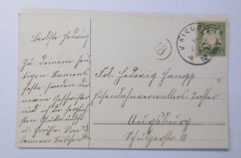 Namenstag, Rosen,     1909 ♥ (53103) 1