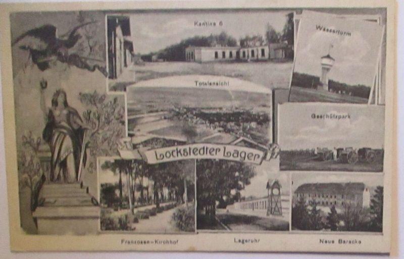 Lockstedter Lager u.a. Geschützpark Franzosen-Friedhof usw. (10198)