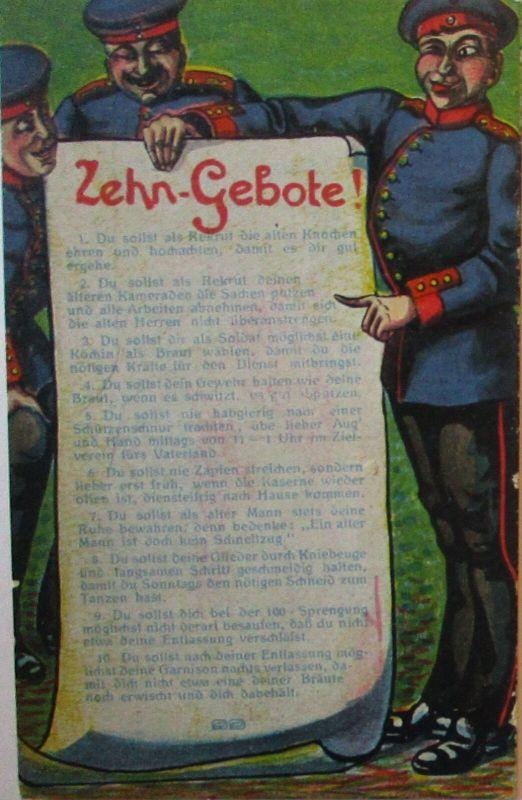 Zehn Gebote des Soldaten, Verlag Noever Dresden (8146)
