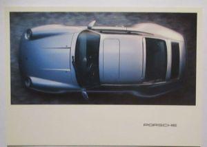 Auto Porsche 911 Werbung Reklame Postkarte (3995)