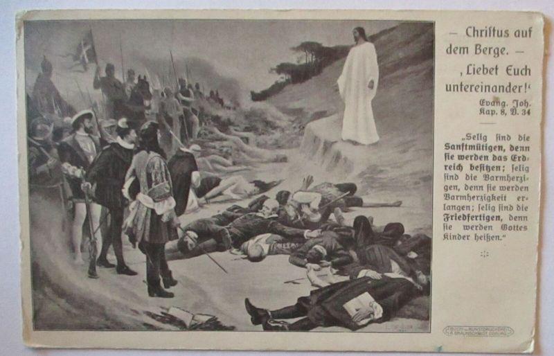 Friede Pax Christus auf dem Berge Deutsche Friedensgesellschaft Stuttgart (1032)