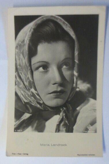 Schauspieler, Maria Landrock, Foto Baumann A. 3461/1 ♥ (68144)