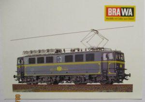 BRAWA Eisenbahn Orientexpress Ae477 Werbepostkarte Werbung Reklame (40112)