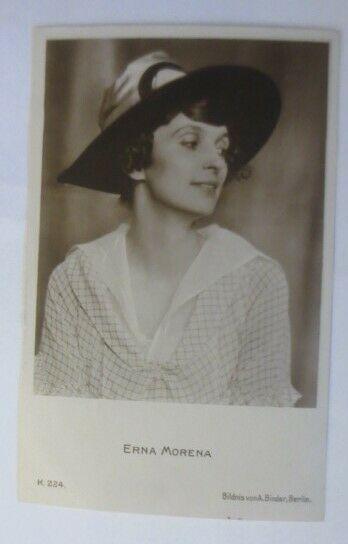 Schauspieler, Erna Morena, Foto A. Binder Berlin, K.224:♥ (19303)