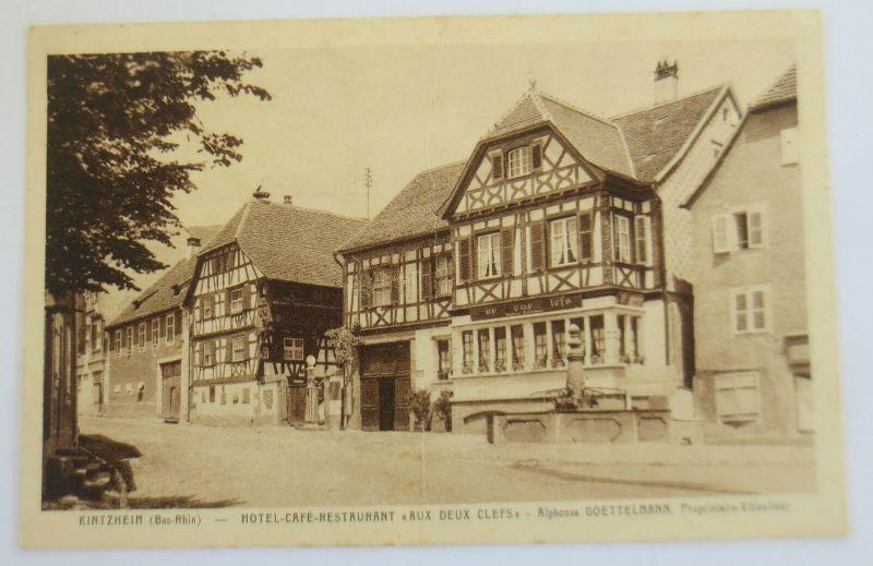 Frankreich, Elsaß, Kintzheim, Hotel Aux Deux Clefs, Besetzung 1941 (30964)
