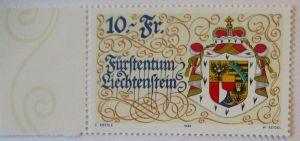 Liechtenstein Nr. 1136, 10 Franken postfrisch (47796)