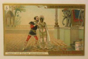 Liebig Serie 265,  Die Afrikanerin   Oper   Act 4.  ♥ (17982)