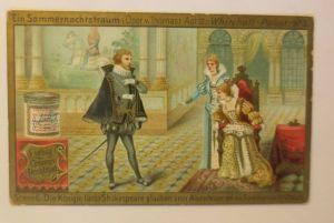 Liebig Serie 265,  Ein Sommernachtstraum  Oper v. Thomas  Act 3.  ♥ (16014)