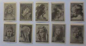 Vignetten Deutschland Kriegsgefangenen-Hilfe,10 verschiedenen Künstlern ♥(18097)