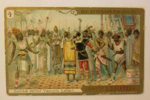 Liebig Serie 265,  Die Afrikanerin   Oper   Act 4.  ♥ (10656)