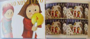 Slowenien Markenheftchen Weihnachten 1999 postfrisch (44769)