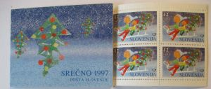 Slowenien Markenheftchen Weihnachten 1997 postfrisch (41503)