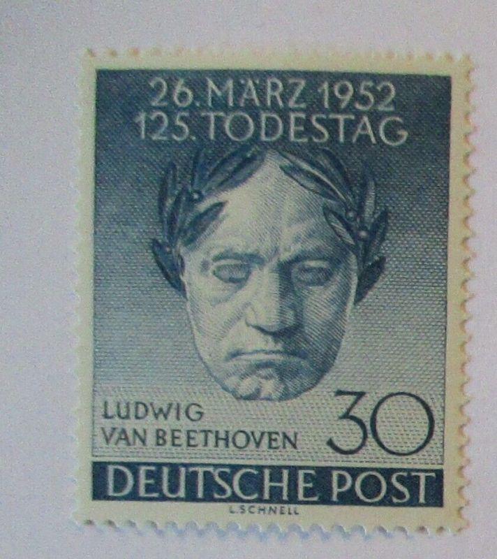 Berlin Nr. 87 Beethoven postfrisch (25015)