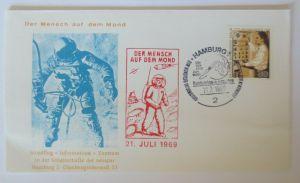 Weltraum USA NASA Der Mensch auf dem Mond  Sonderstempel 1969 ♥ (44160)