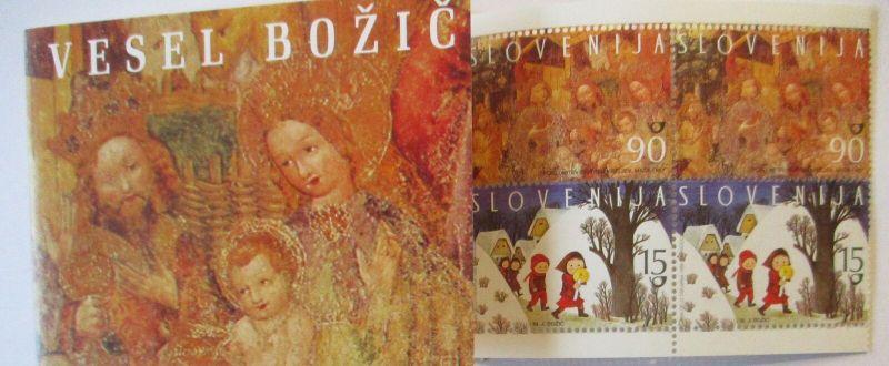 Slowenien Markenheftchen Weihnachten 1998 postfrisch (21173)