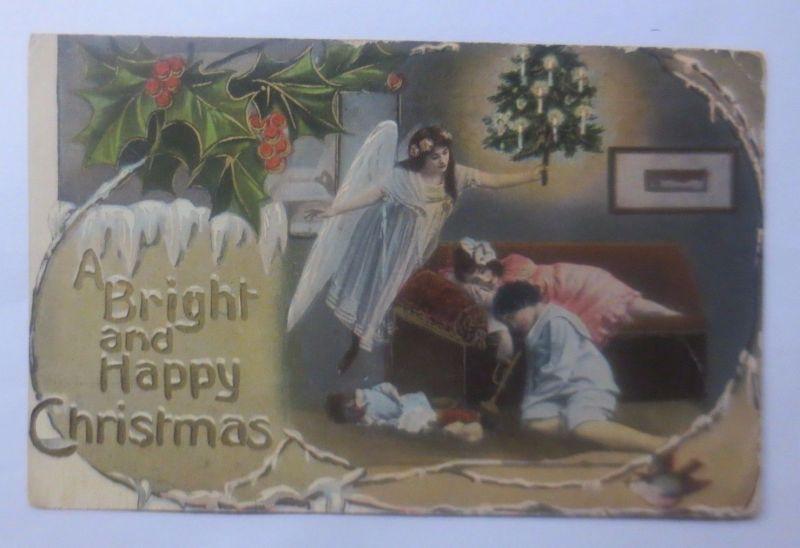 Weihnachten, Engel, Kinder, Spielzeug,  1913 ♥  (62336)