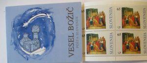 Slowenien Markenheftchen Weihnachten 1996 postfrisch (14714)