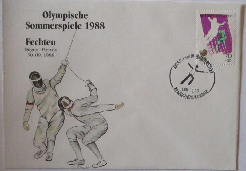 Olympia 1988 Fechten Herren (44688)