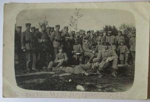 Soldaten IR von Horn, Feldpost Fotokarte 1916 nach Altenkirchen (32648)