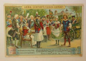 Liebig Oper Joh. Strauss Der lustige Krieg ♥ (30609)