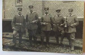 Deutsche Soldaten, Landsturm, Feldpoststation 197, Feldpost 1915 (4283)