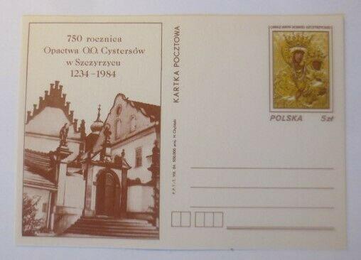 Polen Sonderganzsache 750. Jahrestag der Abtei O.O. Cystersow,  1988 ♥ (18074)
