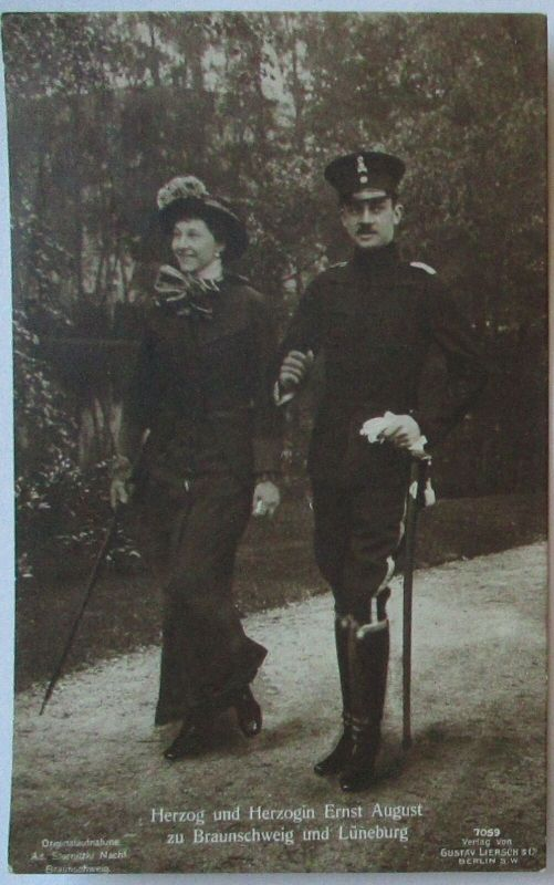 Adel, Herzog und Herzogin Ernst August zu Braunschweig und Lüneburg (23097)
