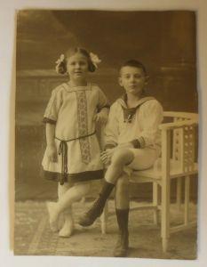 Fotografie, Foto, Kinder, Mode, Matrose,  1900 ♥ (8429)