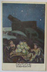 Deutsche Weihnachten, Künstlerkarte Rich. Klein, Patriotik Bayern (21242)