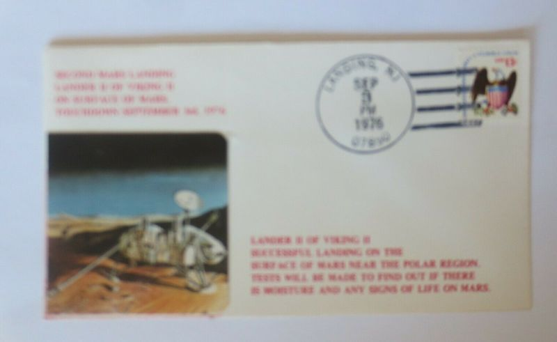 Weltraum USA NASA  Viking II. Marslandung   3,Sep.1976  ♥  (29073)