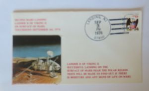 Weltraum USA NASA  Viking II. Marslandung   3,Sep.1976  ♥  (29073)
