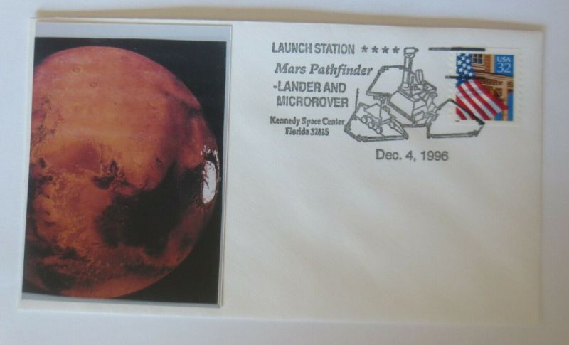 Weltraum USA NASA Mars Pathfinder Kennedy Space Center  1996 ♥ (14167)