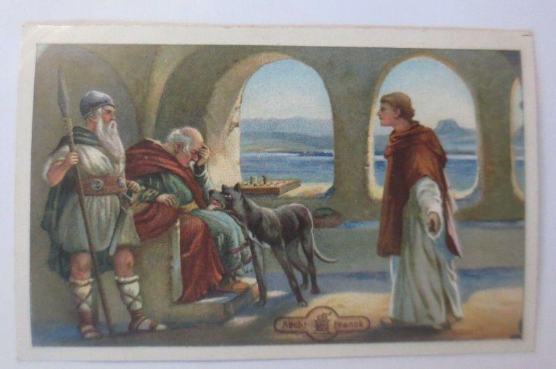 Kaufmannsbilder,  Aecht Franck Kaffee, Serie Ekkehard,  Nr.4   ♥  (64288)