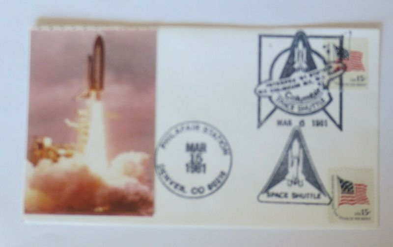 Weltraum USA NASA  Space Shuttle  Columbie 15 März 1981  ♥  (5366)