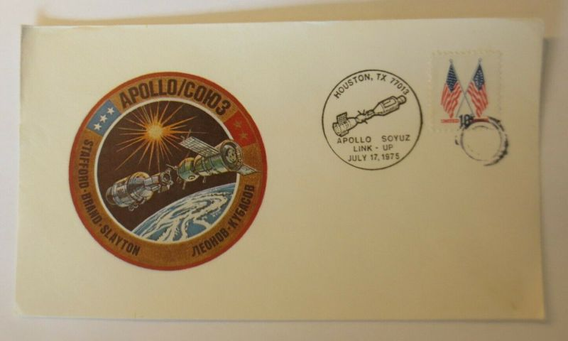 Weltraum  USA-Russland  NASA Apollo Soyus 1975 ♥ (22617)