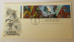 Weltraum USA NASA Space Fantasy First Day of Issue 1993 ♥ (22404)