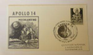 Weltraum Österreich Werbeschau  Apollo 14. Moonlanding  1971 ♥ (20924)