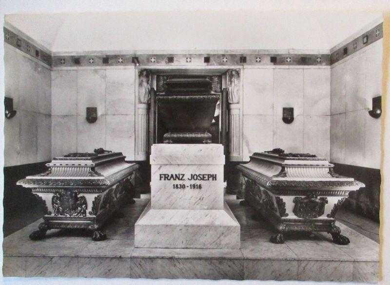 Österreich Wien Kaisergruft Kaiser Franz Josef und Kaiserin Elisabeth (29129)