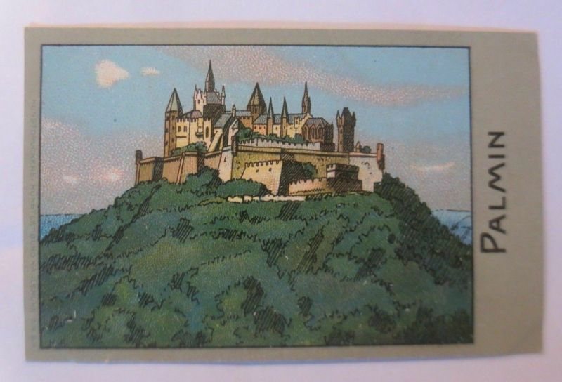 Palmin,  Serie 109, Bild 1. Berühmte Burgen, Burg Hohenzollern ♥ (990)