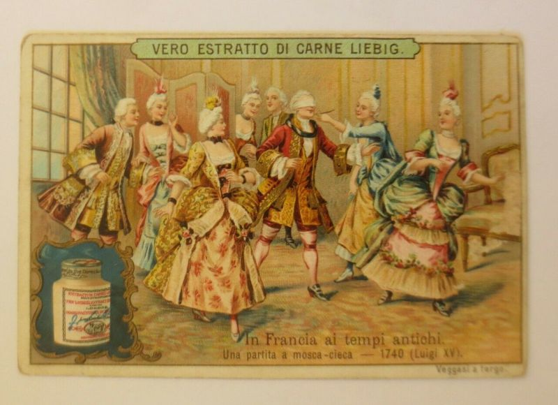 Liebig Italien In Francia ai tempi antichi    ♥ (49544)