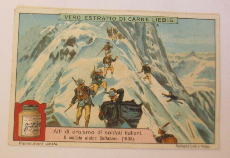 Liebig Italien, Atti di eroismo di soldati Italiani  ♥ (44817)