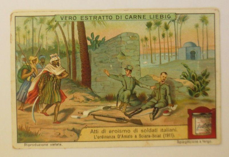 Liebig Italien, Atti di eroismo di soldati Italiani     ♥ (26803)
