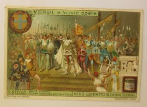 Liebig Serie 6,  Verdi s le Sue Opere, 5. Ostello, Verdi Oper   ♥ (26832)