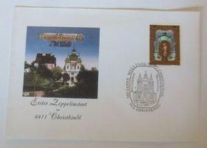 Österreich FDC Sonderstempel Erster Zeppelinstart  4411 Christkindl 1995♥(72635)